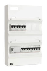 Boligtavle LLK2 1130 hvid