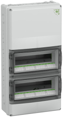 Gruppetavle AK 28 Plus modul med PE/N terminal, IP65