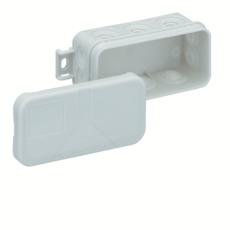Forgreningsdåse Mini 25-L uden klemmer, 89 x 43 x 37 mm