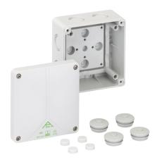 Forgreningsdåse Abox-i 060-L uden klemmer, 110x110x67 mm, gr