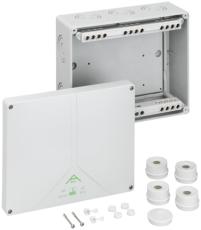 Forgreningsdåse Abox 250-25 med klemmer, 250 x 200 x 115 mm