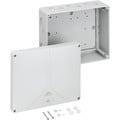 Forgreningsdåse Abox-i 250-L uden klemmer, 250x200x115 mm, g