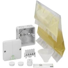 Forgreningsdåse Abox XT 025-2,5 med klemme og 250 ml støbema