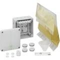 Forgreningsdåse Abox XT 060-6 med klemme og 600 ml støbemass