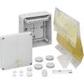 Forgreningsdåse Abox XT 100-6 med klemme og 1200 ml støbemas