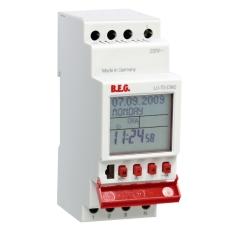 Kontaktur TS-DW2 digitalt døgn/uge 16A, 1 x slutte/bryde