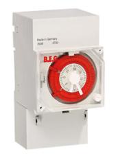 Kontaktur TS-AD4 analog døgn 16A, 1 x slutte/bryde