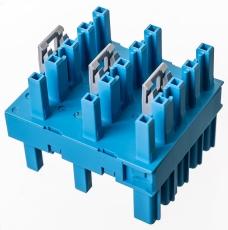 HH-blok 5-polet, 1xhan/5xhun, blå