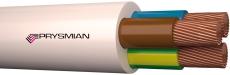 Downlightkabel H05V2V2-F PKAJ90 3G1,5 hvid R100