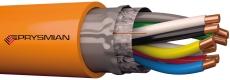 Funktionssikkerkabel E30 FE180 JE-H(ST)H 4x2x0,8 mm Orange T