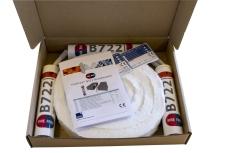 Brandkuffert B722 hvid