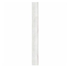 Stofledning 2x0,75 mm² 4M hvid