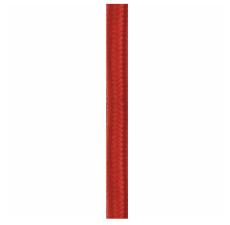 Stofledning 2x0,75 mm² 4M rød