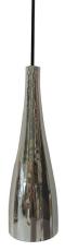 Glaspendel Embla E27, sølv