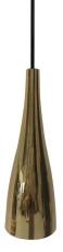 Glaspendel Embla E27, guld