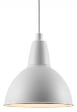 Pendel Trude Ø21 cm E27 hvid