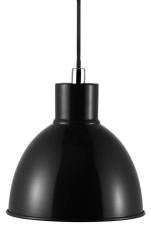Pendel Pop Ø21,5 cm E27 sort