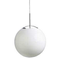 Plastkuppel for Globe Ø200, 100/110 mm opal