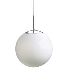 Plastkuppel for Globe Ø300, 130/140 mm opal