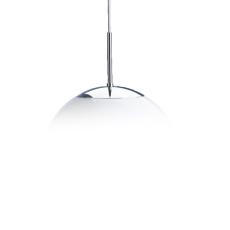 Globe Caféophæng 1x18W GX24q-2 Ø300/350 krom