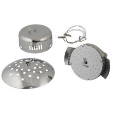 Globe Caféophæng LED 20W dæmpbar Ø300/350 krom