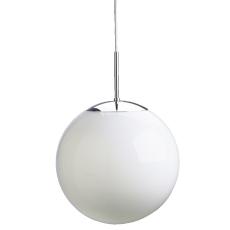 Glaskuppel for globe Ø400, hulmål 180/190 mm