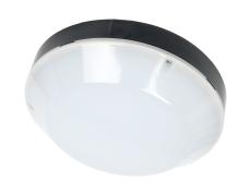 Spartan Plafond 12W 840, 1080 lumen, sort, IP65