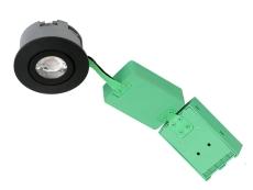 Downlight Arden GU10, max 7W LED, udendørs, rund, sort