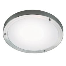 Plafond Ancona Maxi LED 12W 1050 lumen børstet stål