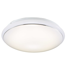 Plafond Melo 34 LED 12W 3000K 840 Lumen M/Sensor Hvid