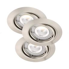 Triton 3-Kit LED 3x6W Cob 2700K 350 Lumen GU10 Dæmpbar Bs