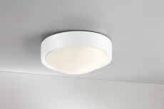 Plafond Cover LED 9W Ø250 mm IP23 hvid