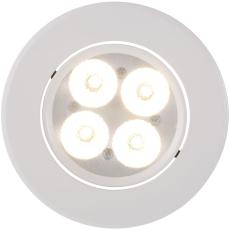 Gefion Indbygningssæt LED 3x3W GU10 hvid