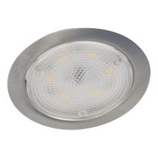 Downlight DL-3102 LED 1,8W 24V DC 156 lumen børstet stål