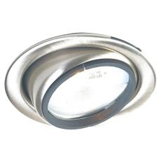 DL-3151 10W med lys glas Krom