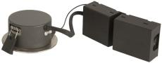 Downlight Poco LED 5W 830, børstet stål
