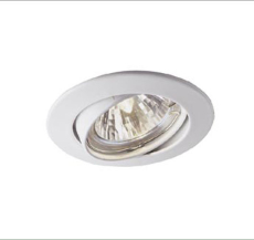 Downlight DL-830 230V GU10 50W/LED 7W hvid