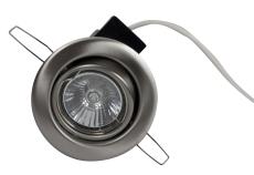 Downlight DL-930 3W LED GU10 børstet stål