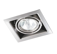 Downlight DL-221 ISO 230V 35W GU10 børstet stål