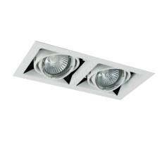 Downlight DL-222 ISO 12V 35W GU5,3 Hvid