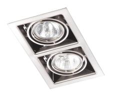 Downlight DL-222 ISO 12V 35W GU5,3 Børstet Stål