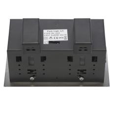 Downlight DL-222 Iso 2x6W 3000K Dim LED børstet stål