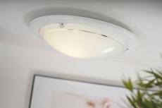 Plafond Spinner E27 hvid