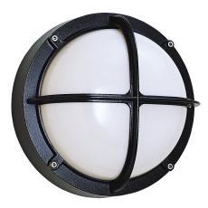 Alfa Skotlampe med kryds 1x18W G24d-2 sort