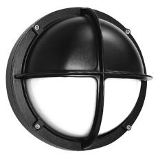 Alfa Skotlampe med halvskærm 1x18W G24d-2 sort