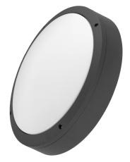 Denali Skot Sensor 15W 840, 1450 lumen, grå, IP65