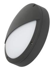 Denali Skot m/halvskærm Sensor 15W 840, 1181 lumen, grå