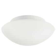 Plafond Ufo E27 opal/hvid