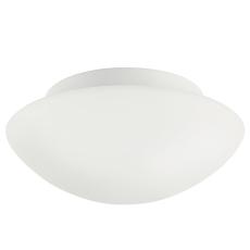 Plafond Ufo Maxi 2xE27 opal/hvid