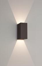 Væglampe Astro 7061 Oslo 160 LED 2x3W, udendørs, sort, IP65